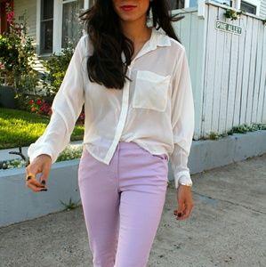 GAP stretch Aubrey pants